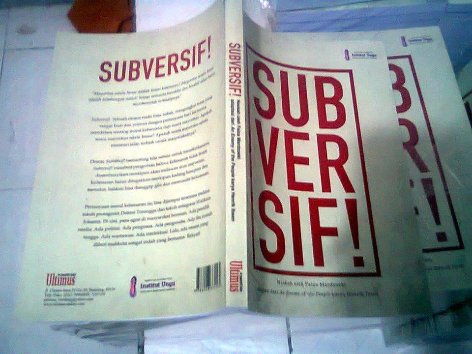 Buku Drama Subversif!